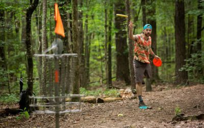 Frisbeegolfia ja innovointia